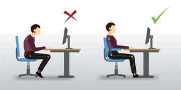 Quelle serait la position optimale au bureau ?
